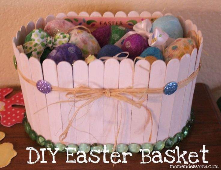 DIY Easter Basket...fun project with kids! This was the inspiration of my beautiful Easter basket! Wait til you see what I've created!