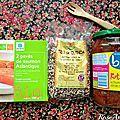 Saumon quinoa ratatouille- IG bas - cuisine du placard- Plat PL et GP