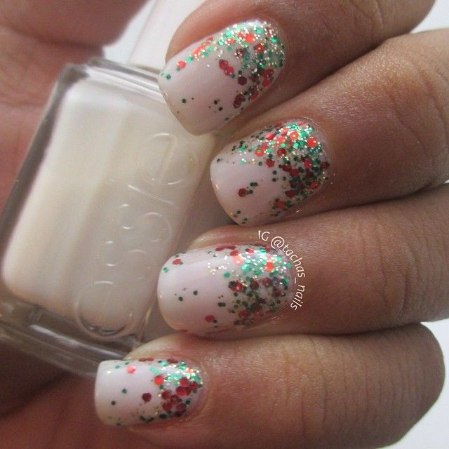 Holiday Sparkle Manicure | Splendid Wedding Company