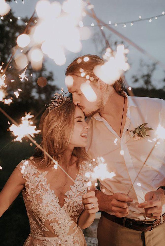Feux de Bengale : 5 conseils pour un mariage lumineux   Cotton Bird Le blog