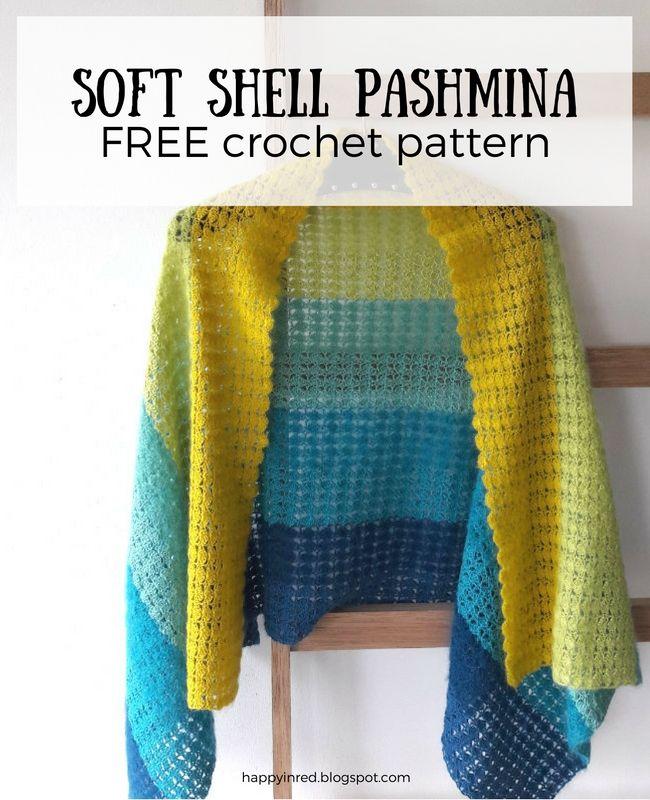 haakpatroon sjaal. ook in het Engels