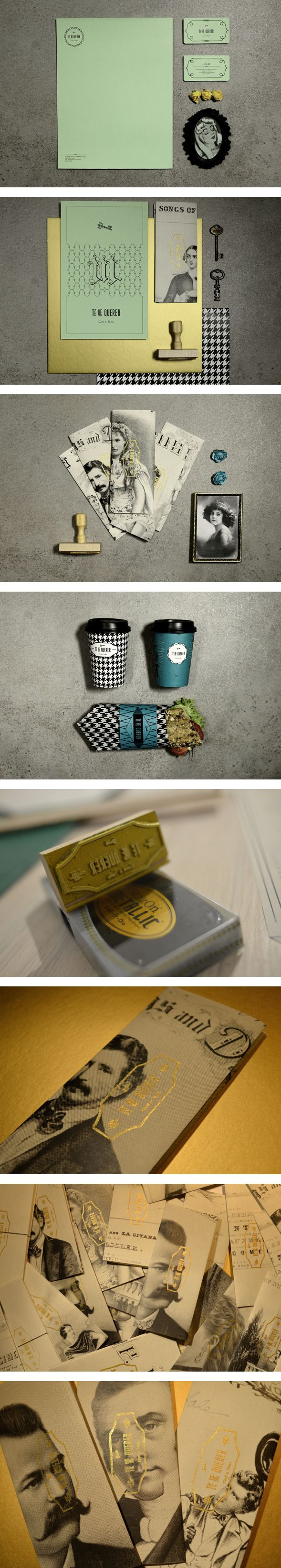 Té de Querer by yy via Behance Let's eat #identity #packaging #branding PD