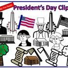 This is a download for President's Day Clipart that is available in color and black and white outline. It is available in png and jpeg format. This...