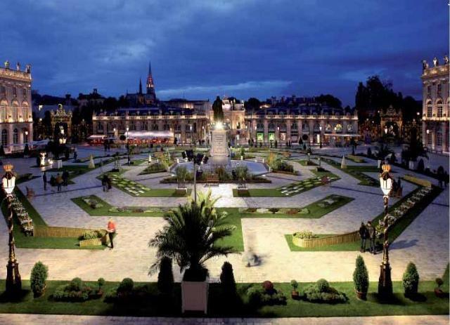 Jardin ephémère Place Stanislas