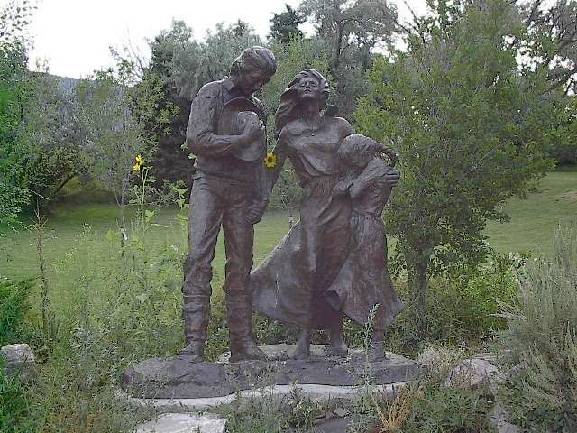 Mormon Pioneers | Mormon pioneer's grave.