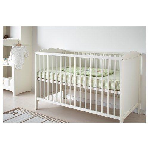 HENSVIK bebek karyolası, beyaz | IKEA