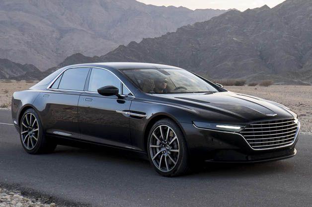 Aston Martin tests new Lagonda super-sedan in Oman - Autoblog