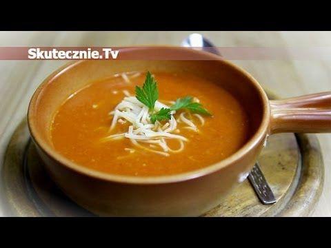 ▶ Zupa z podsmażonej marchwi i pomidorów :: Skutecznie.Tv [HD] - YouTube