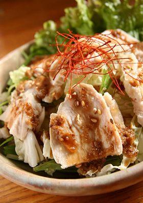 白菜のバンバンジー風サラダ by piyo_piyo [クックパッド] 簡単 ...