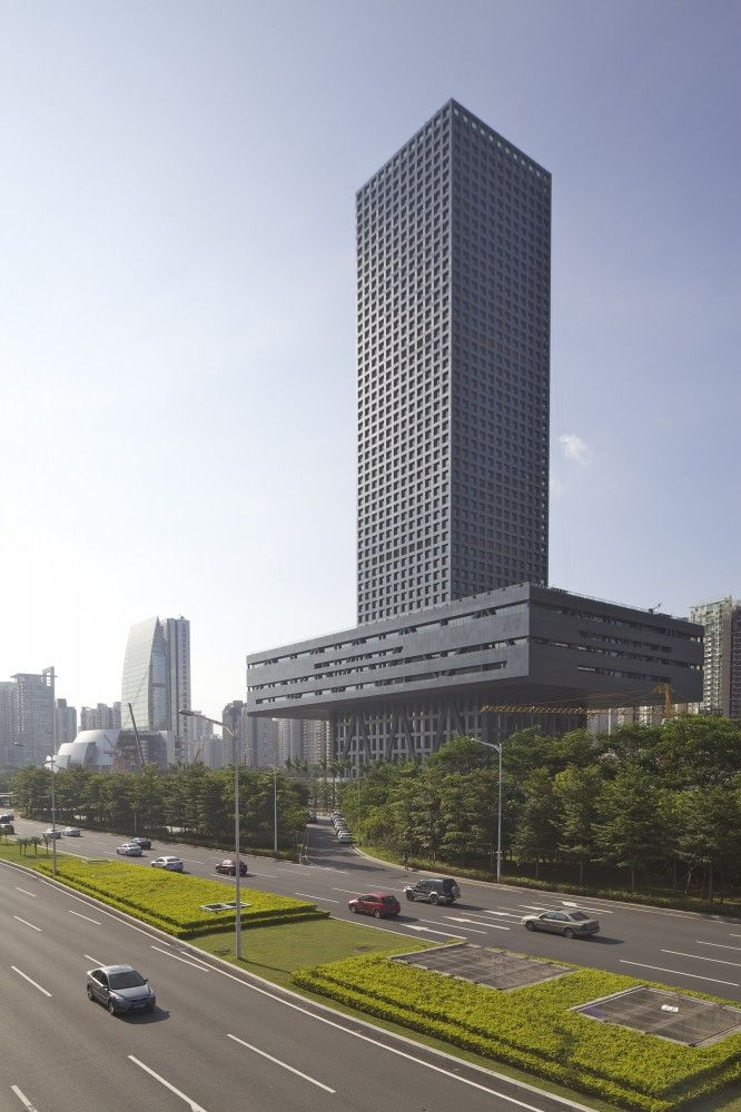 Shenzhen Stock Exchange HQ - OMA - Guangdong, China