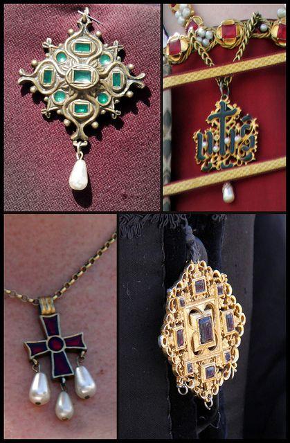 Tudor jewellery by Kotomicreations, via Flickr