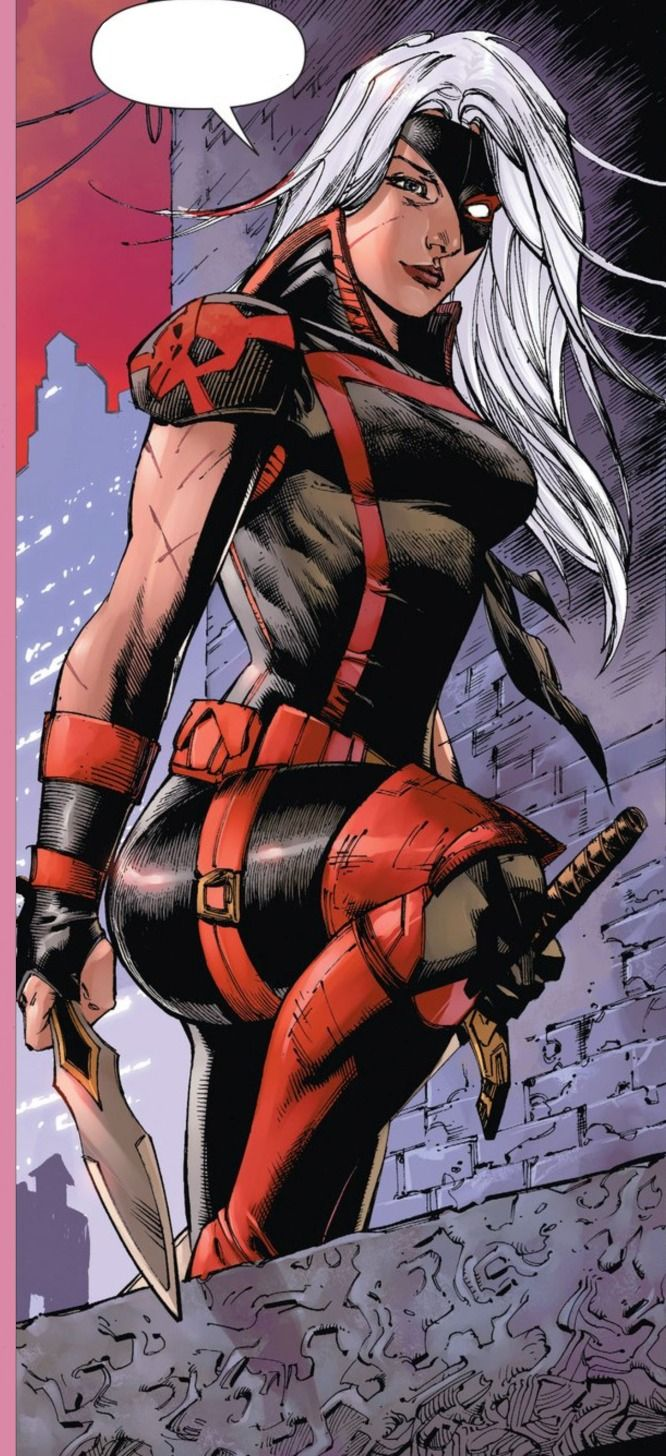 Ravager (aka rose) deathstroke's daughter