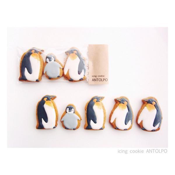 Antolpo Penguin Icing Cookies