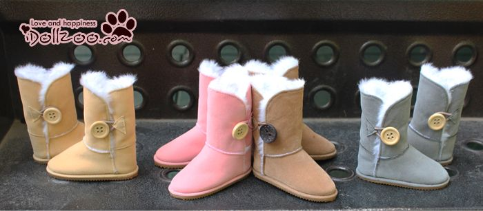 BJD doll shoes 1/3 SD10, 13 DD doll shoes snow boots Spot - Taobao