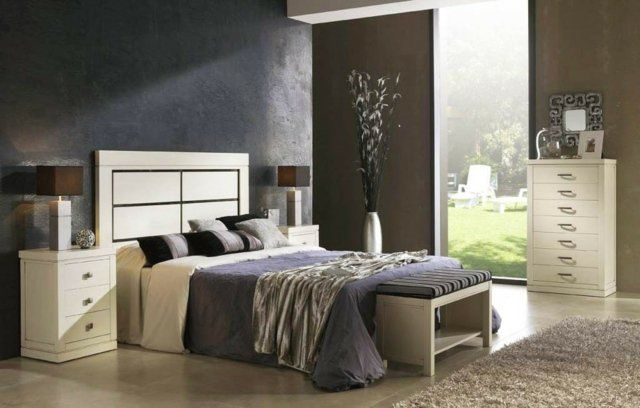 idées déco chambre à coucher en couleurs naturelles assemblées en harmonie