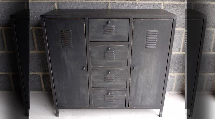 les 25 meilleures id es concernant armoire m tallique sur. Black Bedroom Furniture Sets. Home Design Ideas