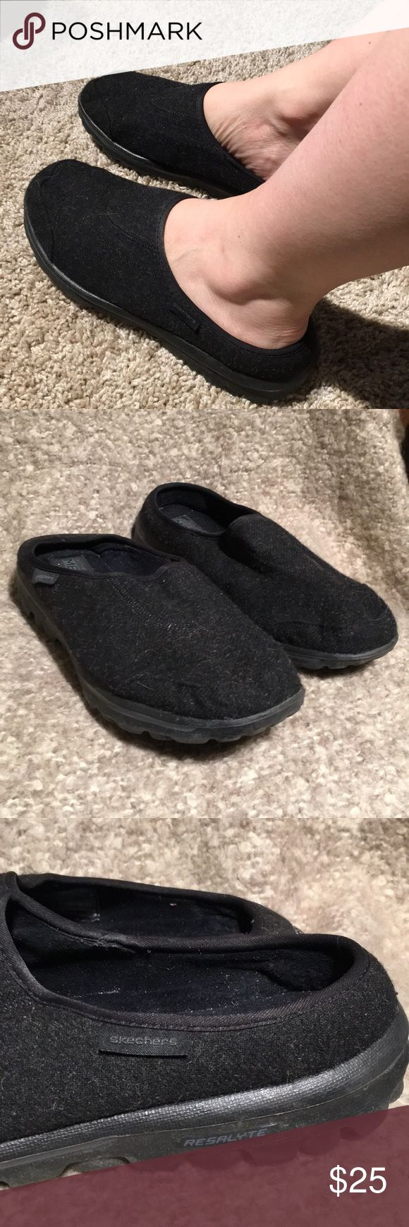 Super lightweight SKECHERS slip on GUC. Feels lovely on the feet. Great for long days standing. Memory foam fit.  Shoe Box B. Skechers Shoes Flats & Loafers