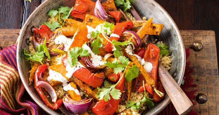 Excite your tastebuds with this delicious Moroccan sweet potato bake.