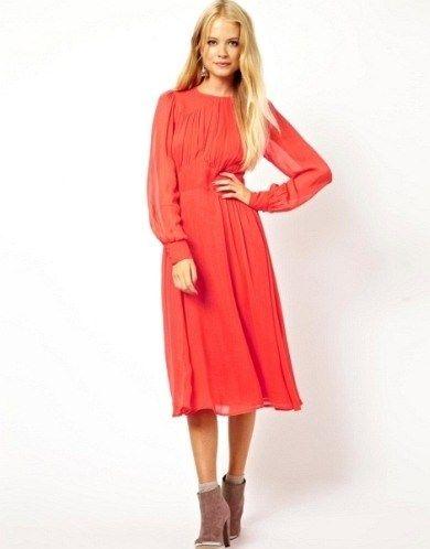 da6abdb45f9df Kışlık Elbise Modelleri İle En Tarz Kombinler   Elbise Modelleri ...