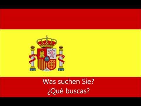 Spanisch Lernen: 150 Spanisch-Sätze für Anfänger PART 2 - YouTube