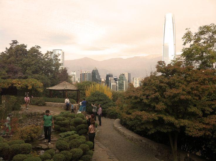Jardín Japonés, cerro San Cristobal