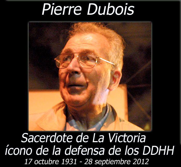 Murió el padre Pierre Dubois. ¿Sabes su historia? Te recomendamos leer=> http://www.lanacion.cl/la-nueva-gran-batalla-de-pierre-dubois/noticias/2009-12-26/215223.html