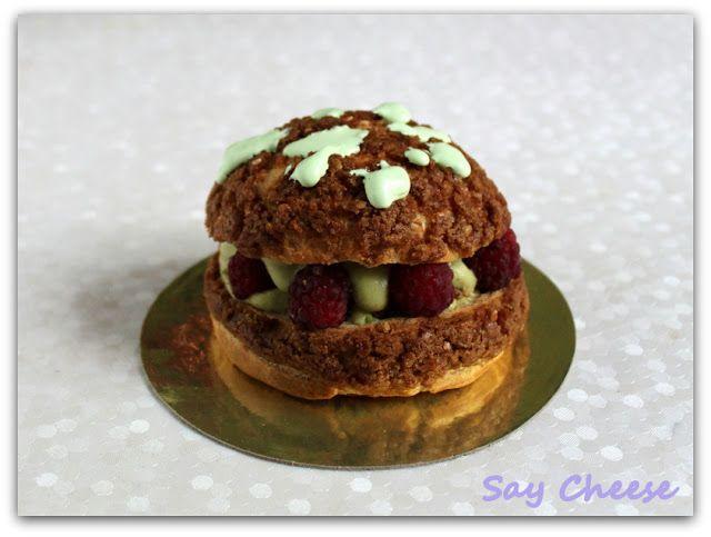 """Кулинарный блог Say Cheese: """"Алиссия"""" - фисташково-малиновое пирожное от Адриано Зумбо"""