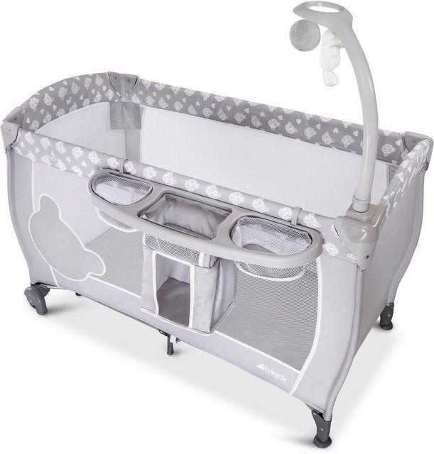 Baby Reisebett Babycenter Teddy Grey Mit Mobile Und