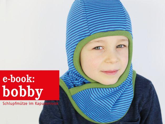Nähanleitungen Kind - E-BOOK ★ Bobby - Schlupfmütze mit Fleecefutter - ein Designerstück von fritzi-selbermacher bei DaWanda