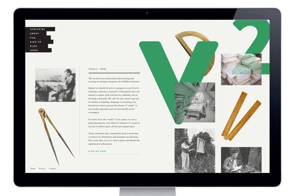 Svbscription V1 & V2 Packaging by RoAndCo Studio, via Behance