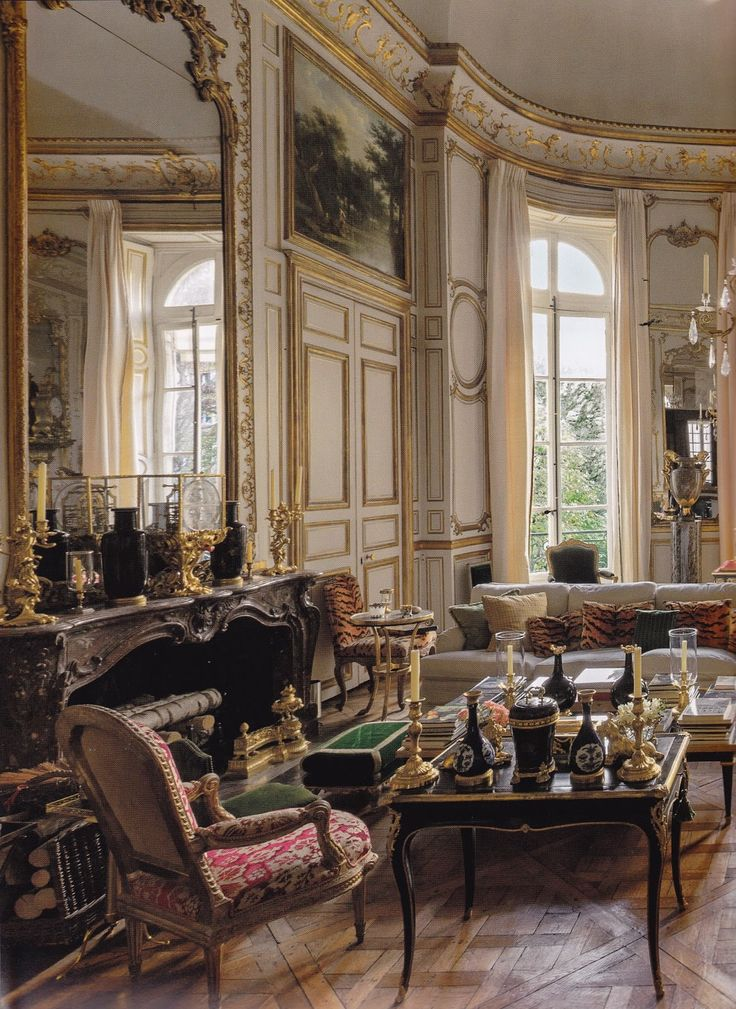 The Homes Of Hubert De Givenchy In Paris U0026 The South Of France. House  InteriorsFrench ...