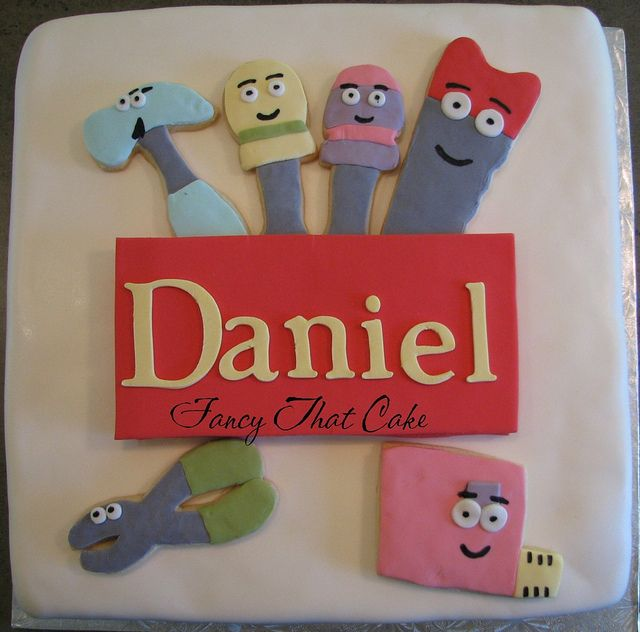 139 best images about cake ideas on pinterest american for Handy manny decorations