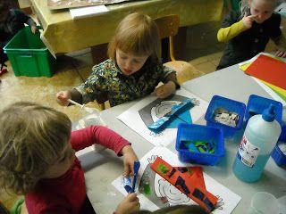 """Een kijkje in de klas bij juf Stéphanie: Thema """"Papier"""" in de peuterklas"""
