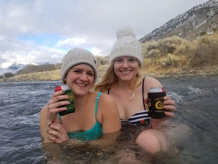 Visit Yellowstone's best kept secret - the Boiling River near Gardiner, Montana