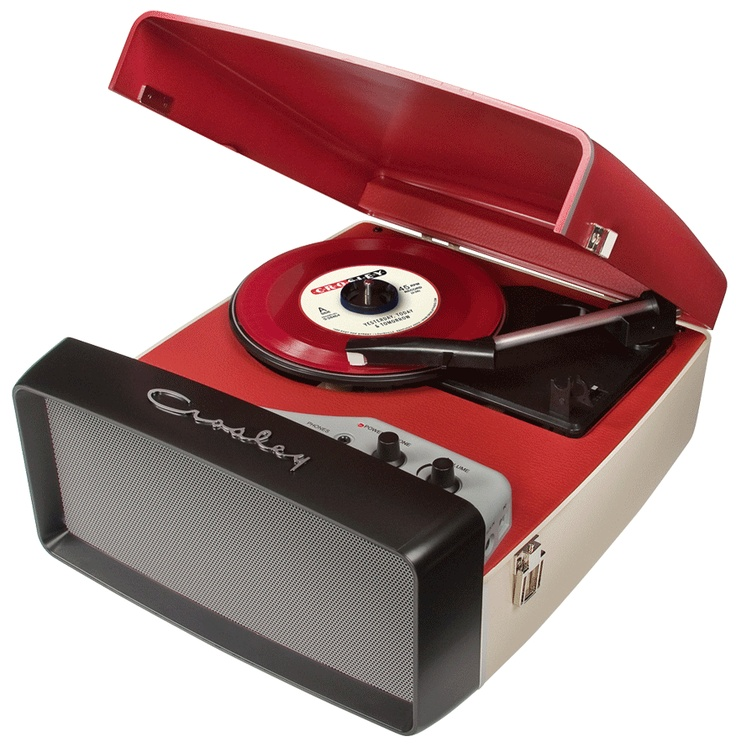 Retro record player from Crosley.