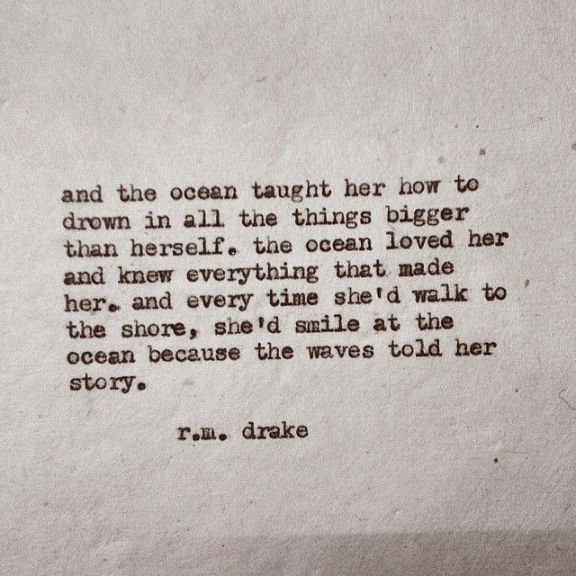 """#474 by Robert M. Drake #rmdrake @rmdrk      Book update. I'm almost done with """"beautiful chaos"""" which is my third installment. It should be released sometime in August. I'll keep you guys posted. Also here is the longer version of """"she smiled at the ocean BC the waves told her story."""" Hope you all like it.  (at find me on facebook @rmdrk)"""