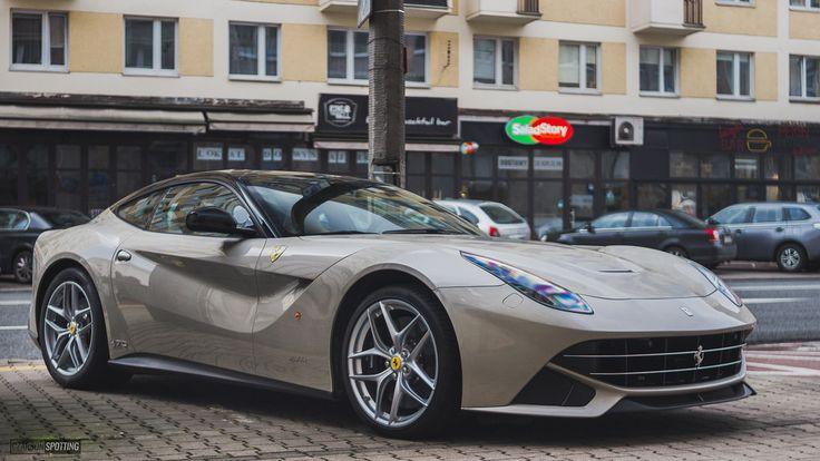 Ferrari F12berlinetta. Spec inspired by 1966 330GTS [OC][5129x2885] via Classy Bro