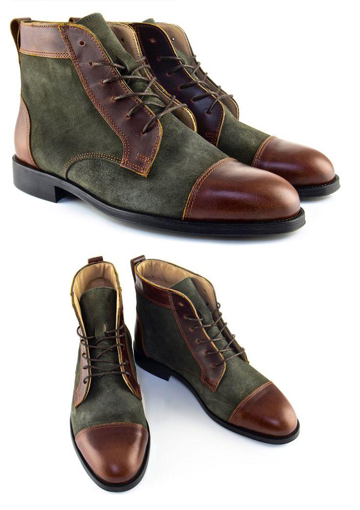 NXY Herren Classic Modern Oxford Wingtip Spitze Blaues Kleid Schuhe 8YIPJp