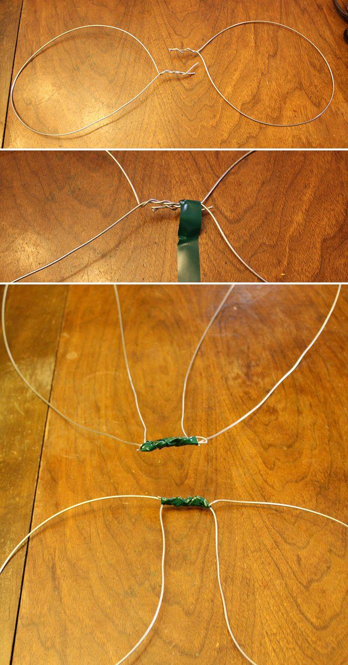 hacer alas de hadas