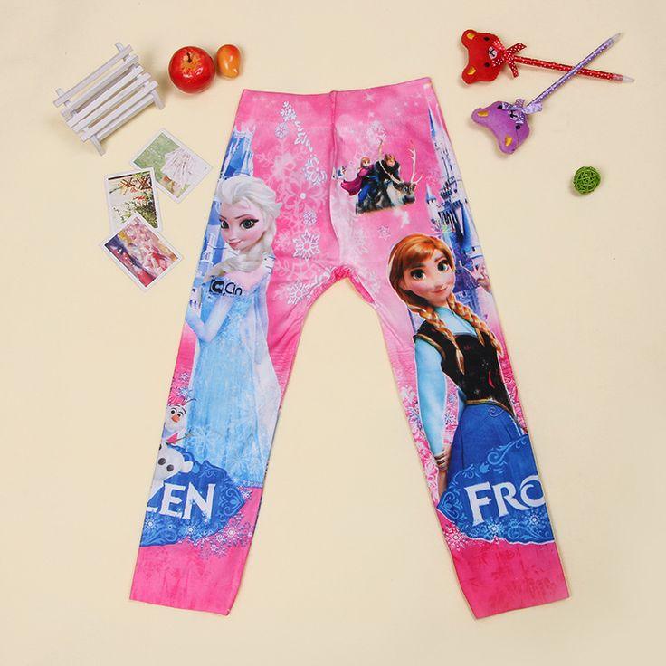 NEW 2016 Fashion Kids Girls Leggings For Girls winter Anna Elsa Long Pants Kids Cotton children Leggins♦️ SMS - F A S H I O N  http://www.sms.hr/products/new-2016-fashion-kids-girls-leggings-for-girls-winter-anna-elsa-long-pants-kids-cotton-children-leggins/ US $5.69