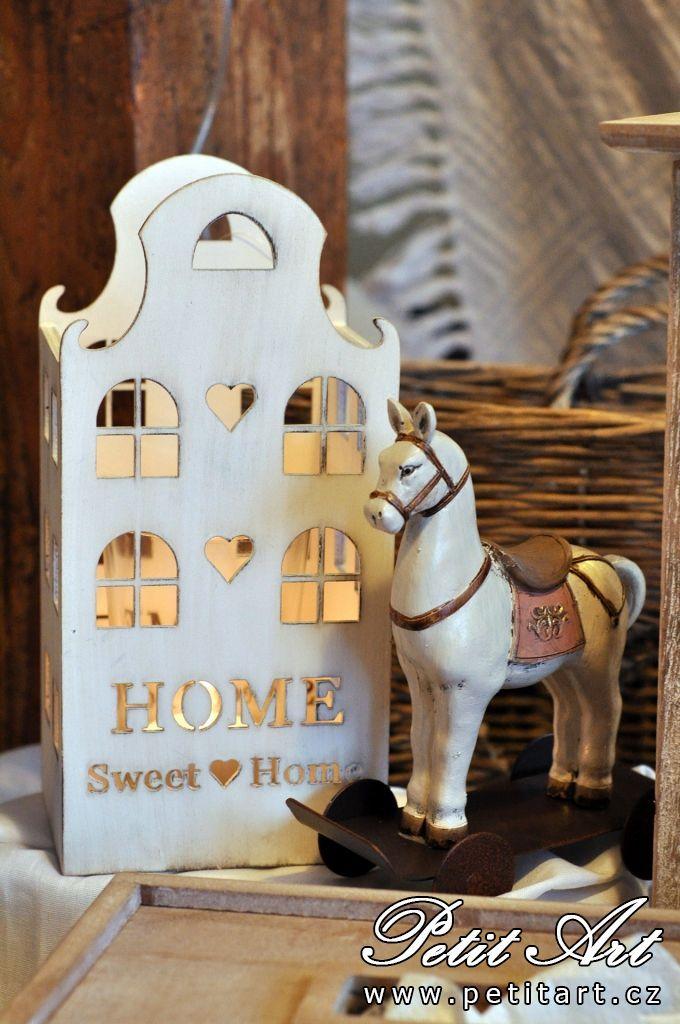 Svícen domeček Home