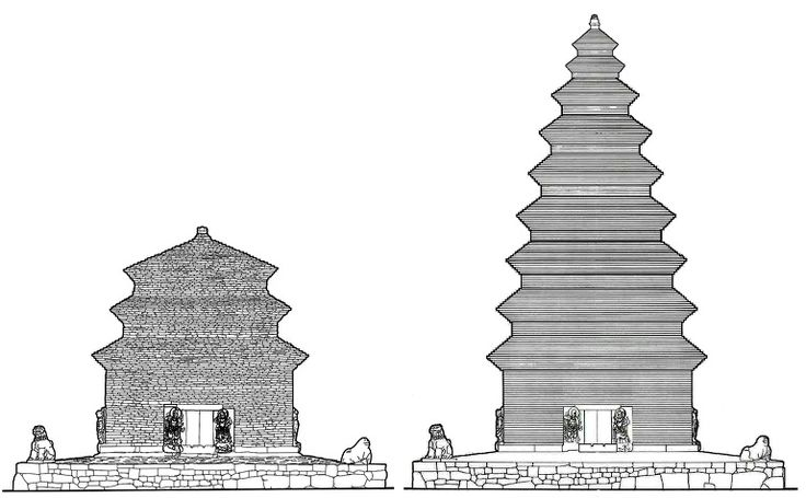 Reconstruction of the original 9-story pagoda at Bunhwangsa 분황사 모전석탑이 9층이었다면 어떤 모양이었을까?