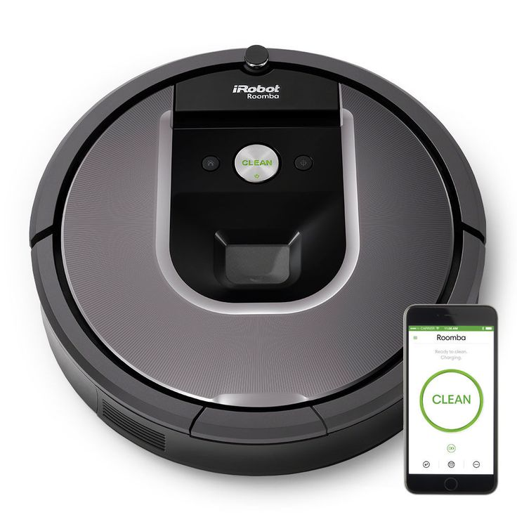 The Roomba® 960 robot vacuum gives you cleaner floors, throughout your entire home, all at the push of a button. Roomba® 960 robot vacuum seamlessly navigates an entire level of your home. Stay ahead of daily dust and dirt, helping you keep up with everyday mess.