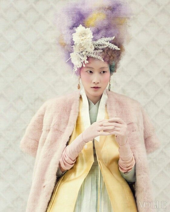 Modern Hanbok   Vogue Korea