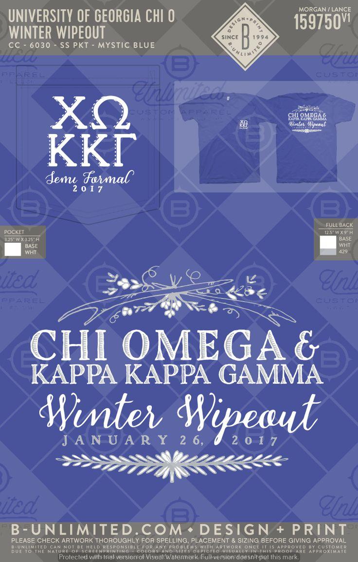 University of Georgia- Chi Omega #BUonYOU #greek #greektshirts #greekshirts #sorority #ChiOmega #ChiO #XO #KappaKappaGamma #KKG #Kappa #formals #formal #functions #mixers #semiformal