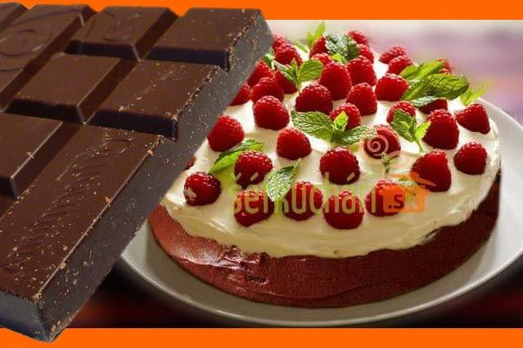 Výrazná čokoládová torta - chladničková