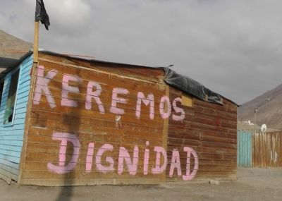Tocopilla: Reconstrucción incompleta y la exigencia de desalojar los campamentos | El Nortero.cl, Noticias de Antofagasta y Calama