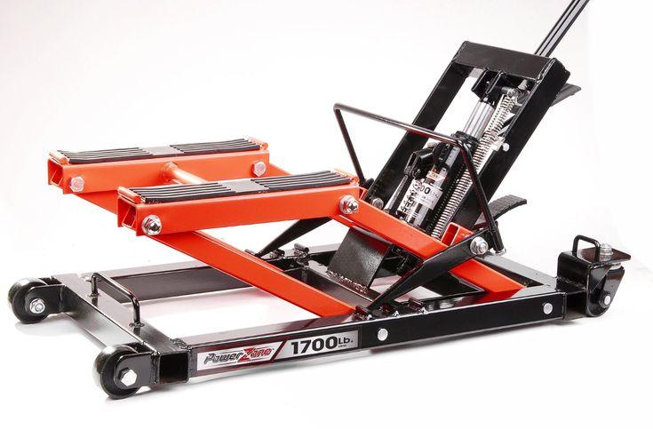 Amazon.com: PowerZone 380047 1700 LB Hydraulic Motorcycle/ATV Jack: Automotive