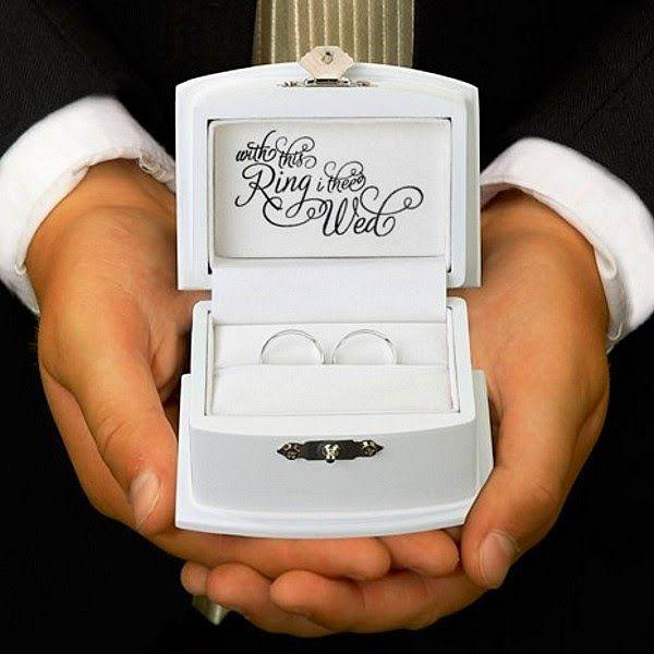 My Wedding Reception Ideas Blog: 7 Wedding Ring Bearer Pillow Alternatives