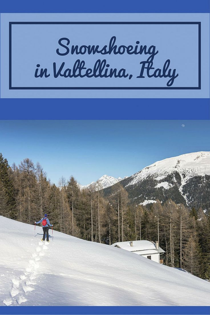 A wonderful weekend in Valtellina, Italian Alps - snowshoeing in the late afternoon was one of our highlights! #inlombardia365